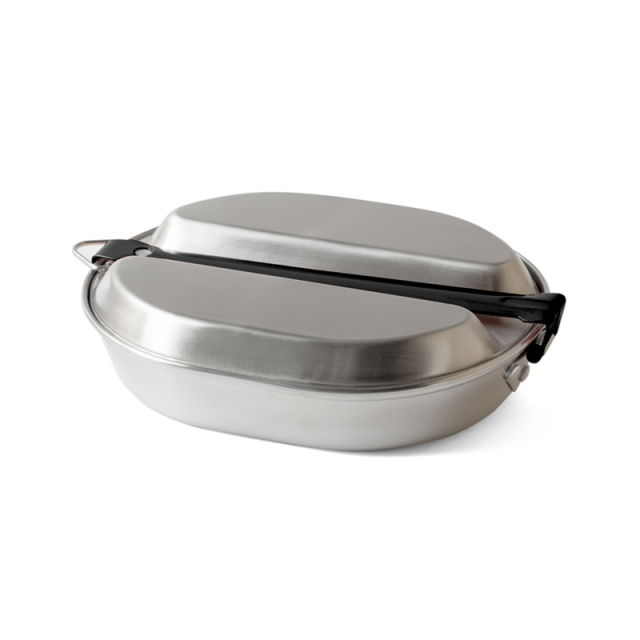 MESS KIT PAN (Round) Steel メスキットパン(ラウンド)