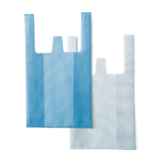CONVENI BAG : コンビニバッグ / Blue × White(L)