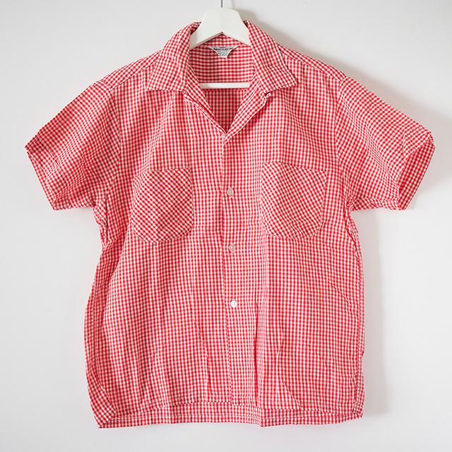 ギンガムSSシャツ