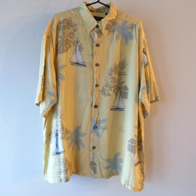 Yacht print shirt