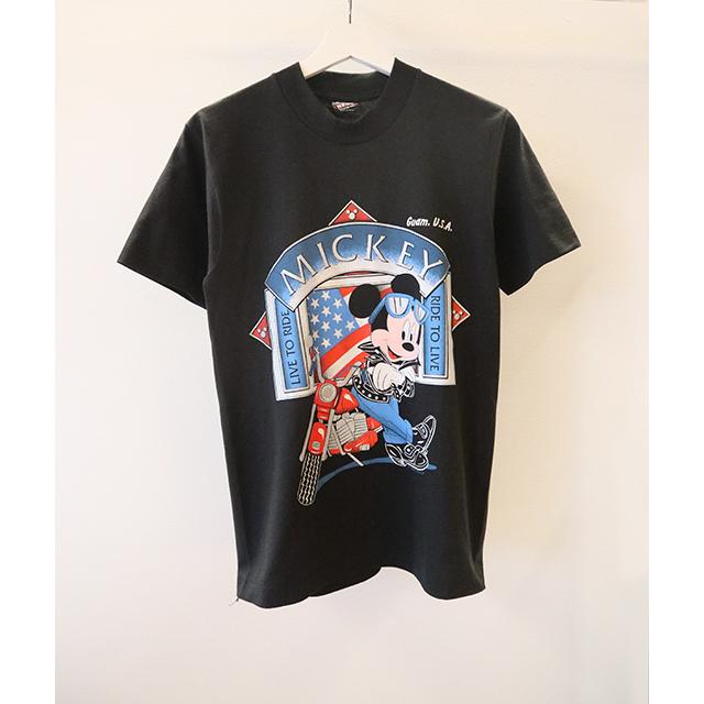 Biker Mickey Tシャツ