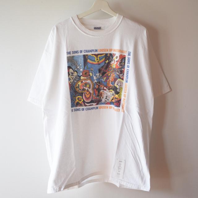 プリント 白Tシャツ