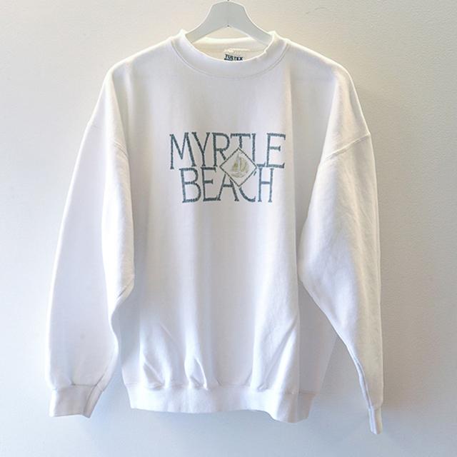MYRTLE BEACH スウェット 白