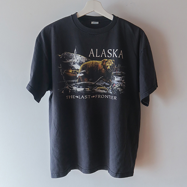 ALASKA Tシャツ 黒