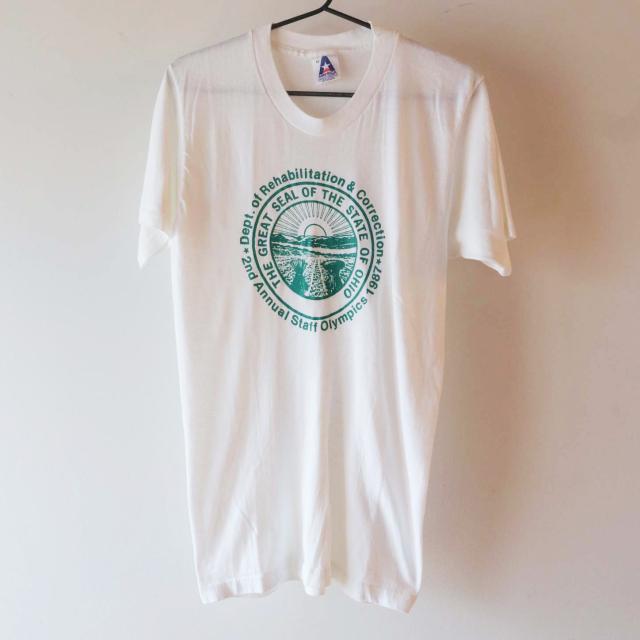 AMERICA ロゴTシャツ 白