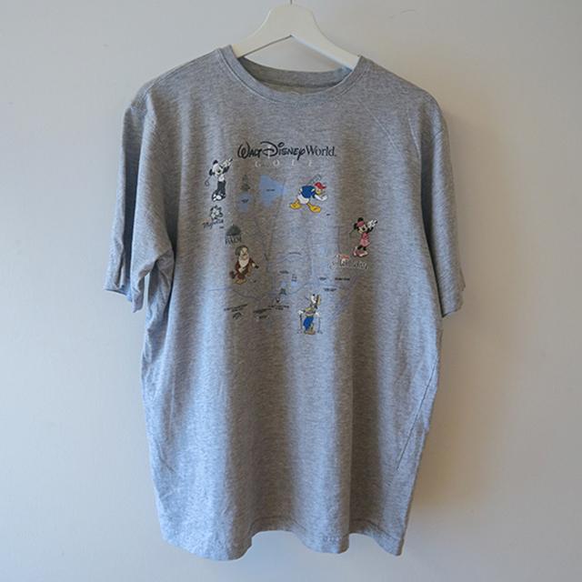DISNEY GOLF Tシャツ グレー