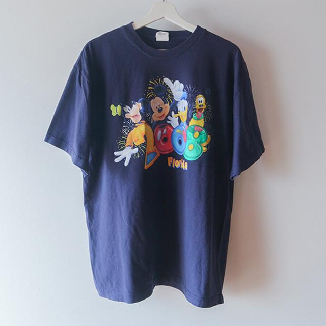 DISNEY 2008 Tシャツ 紫
