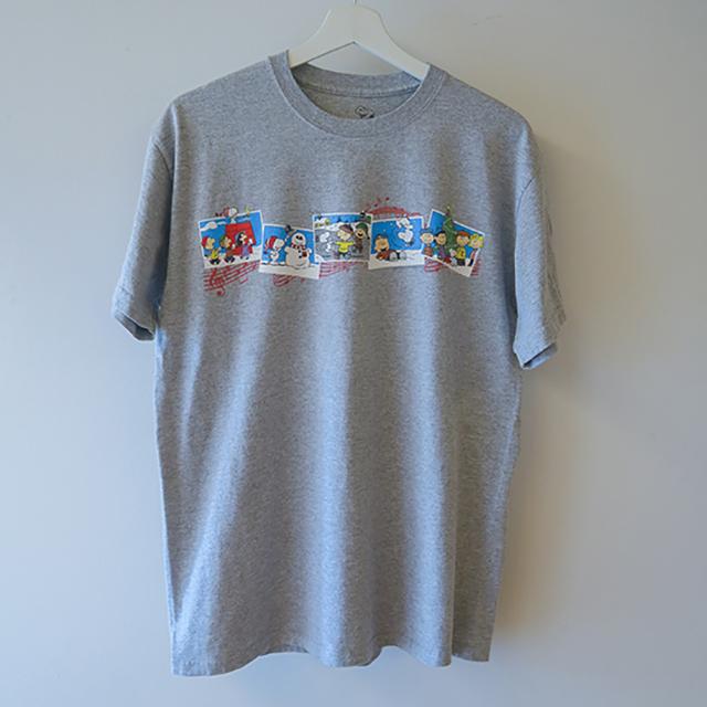 スヌーピー Tシャツ グレー