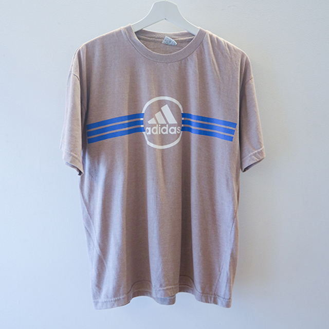 adidas Tシャツ ベージュ