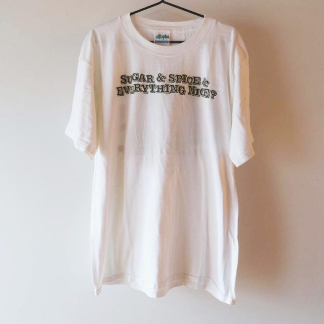 Soccer Logo Tシャツ 白