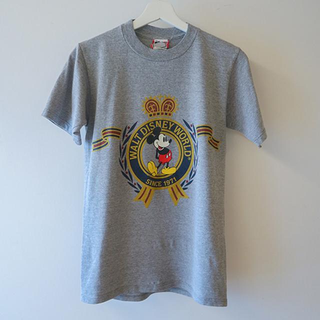 Mickey Tシャツ グレー