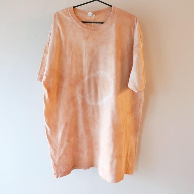 【NEW】Pale orange Tie dye Tシャツ