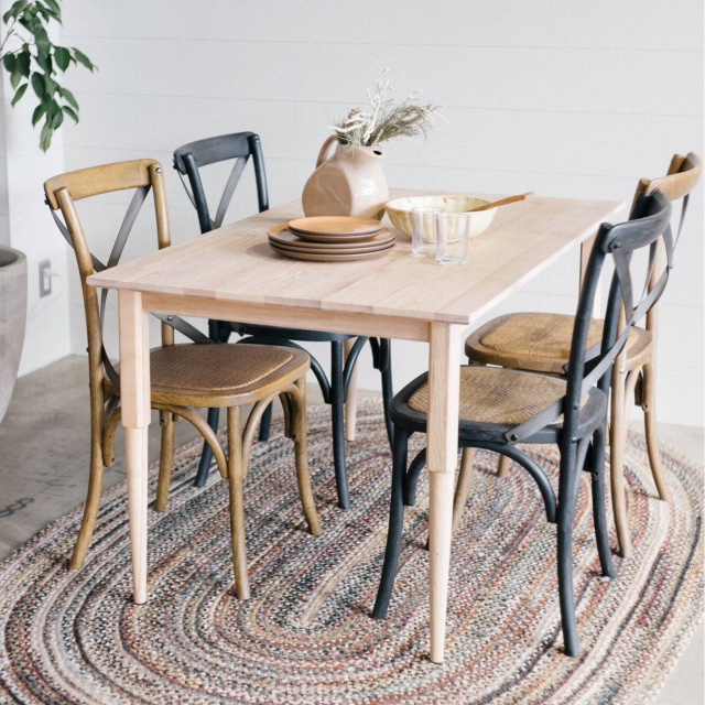 COLTON DINING TABLE-W1550 NT