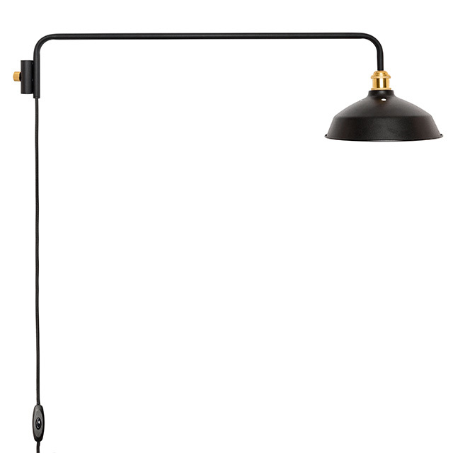 DRAW A LINE Lamp Arm L + Shade SET ブラック