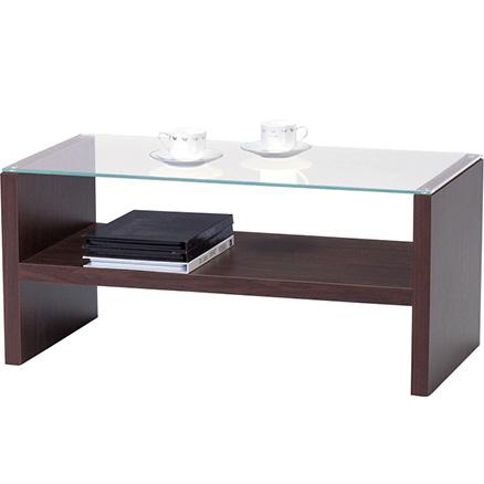 センターテーブル(ブラウン)