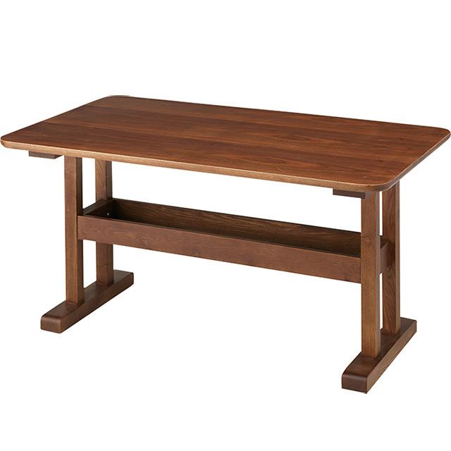 デリカ ダイニングテーブル(ブラウン)