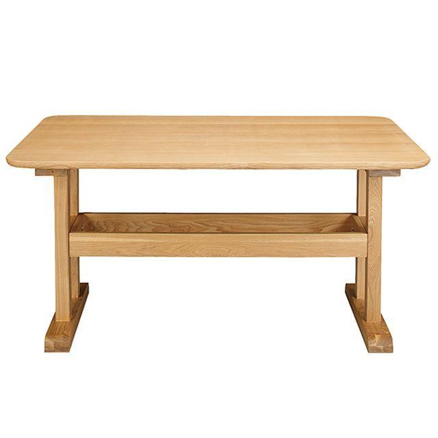 デリカ ダイニングテーブル(ナチュラル)