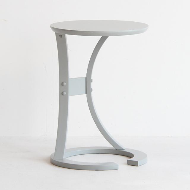 LOTUS サイドテーブル グレイ