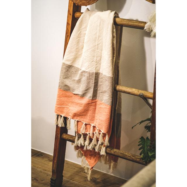 COTTON MULTI CLOTH / Orange