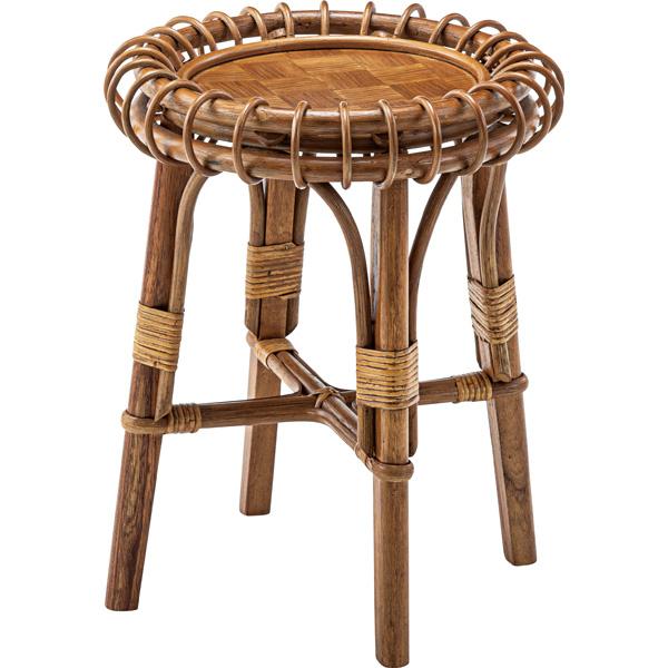 ラタンサイドテーブル