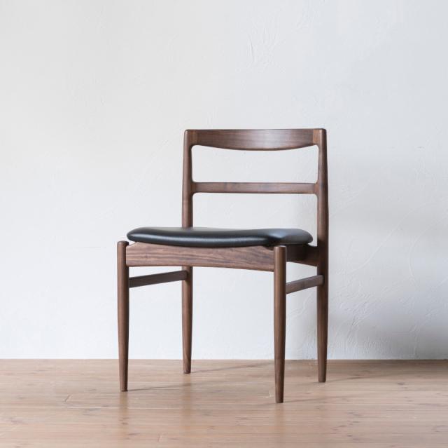 ROUNE side chair / ラウン サイドチェア(ウォールナット)