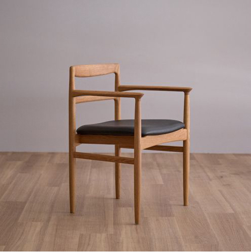 ROUNE arm chair /ラウン アームチェア (オーク)