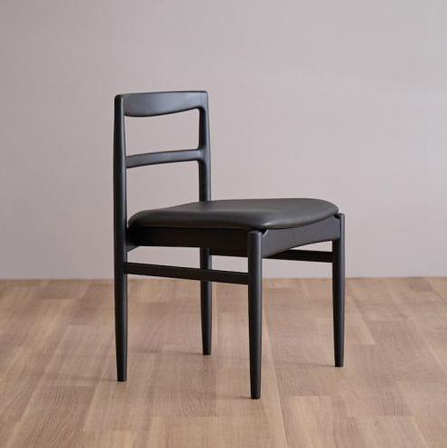 ROUNE side chair / ラウン サイドチェア (ブラック)