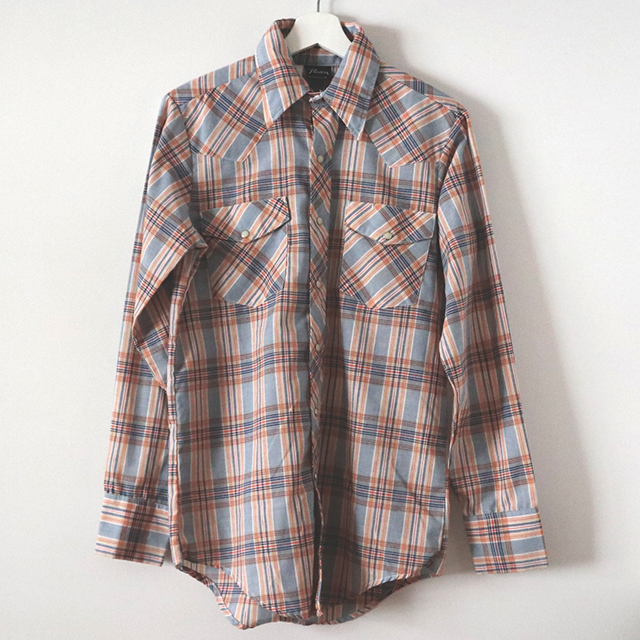 Prentissチェックシャツ