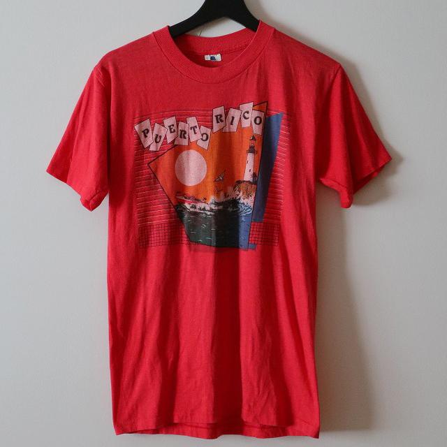 サンセット柄Tシャツ