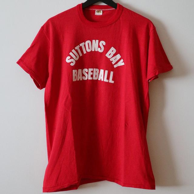 ベースボールロゴTシャツ