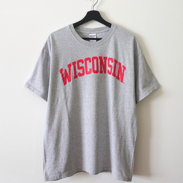 WISCONSIN Tシャツ