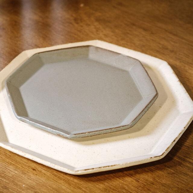 寿山窯 angle アングル 18.5cmプレート グリーン