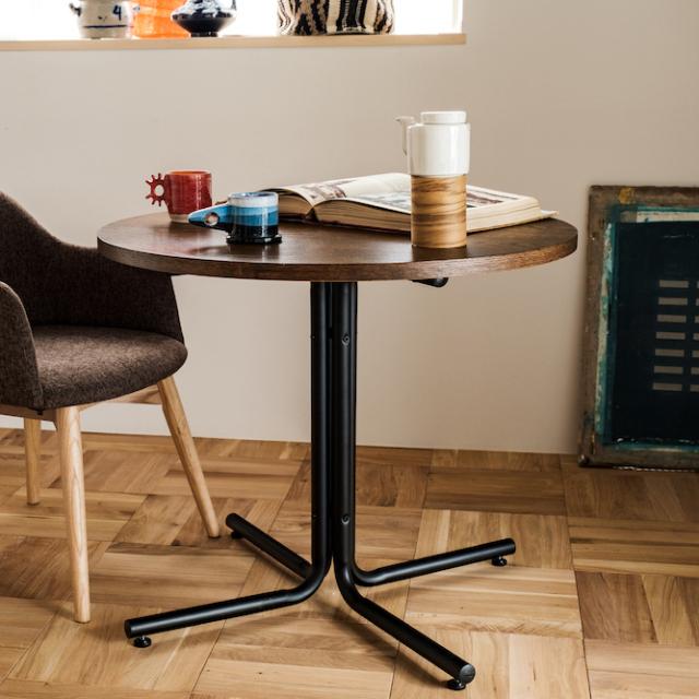 ダリオ カフェテーブル(ブラウン)