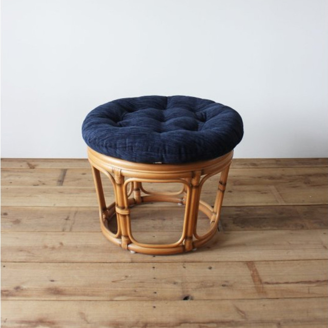 WICKER EASY STOOL NV