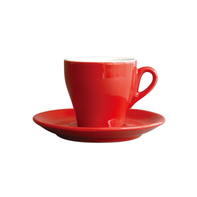 Ipa Genova cappuccino cup  red