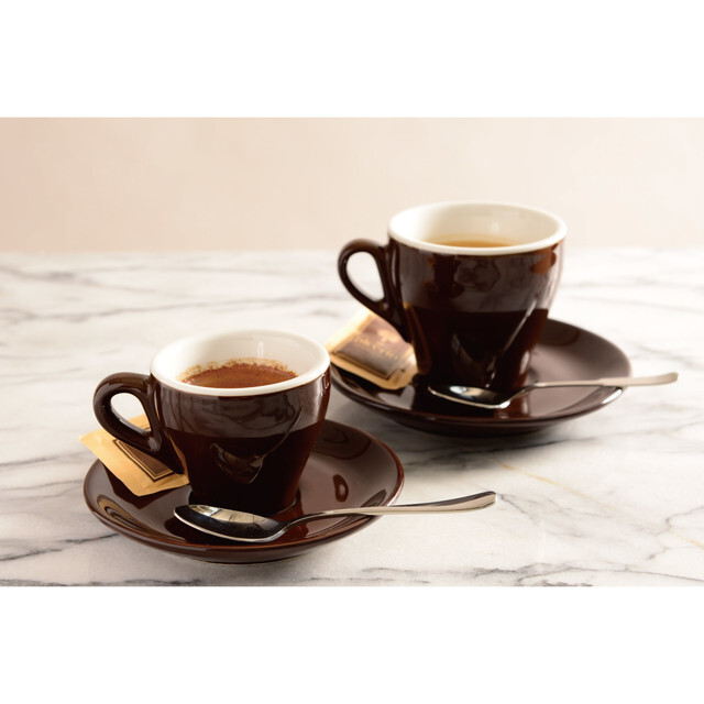 Ipa Genova cappuccino cup  brown