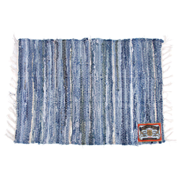 RECYCLE MAT / Denim (S)