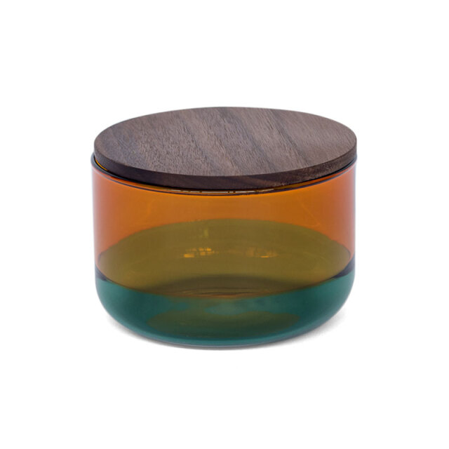 TWO TONE CANISTER (S) Amber×Green