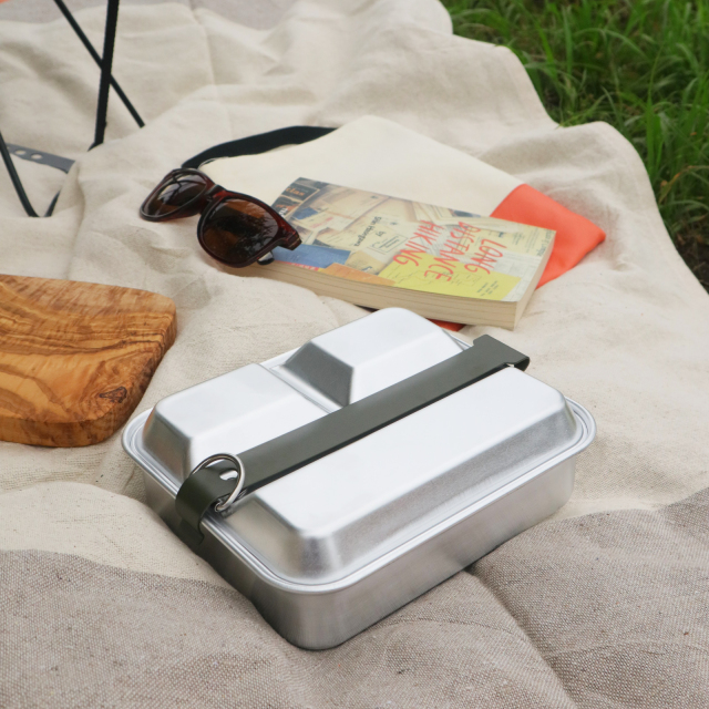 MESS KIT PAN (Square) Aluminum メスキットパン(スクエア)