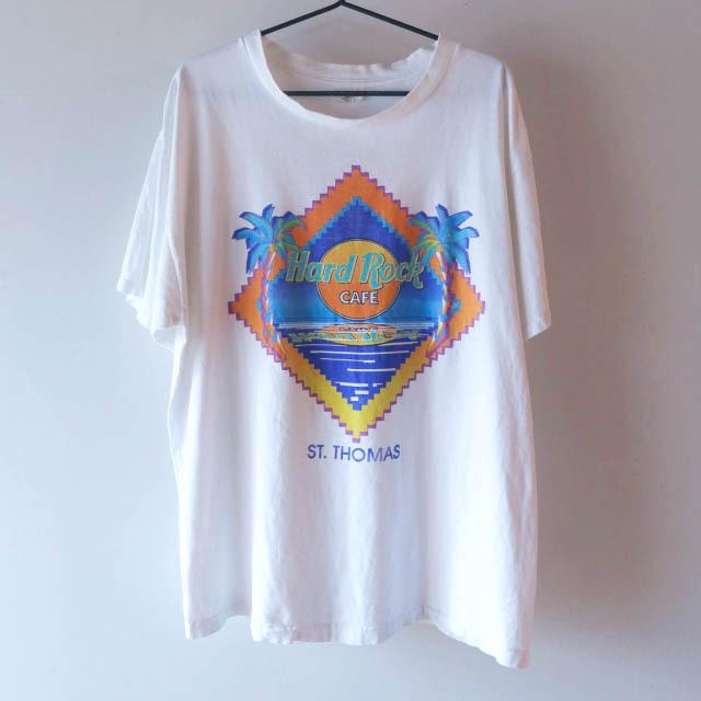 Hard Rock CAFE Tシャツ 白