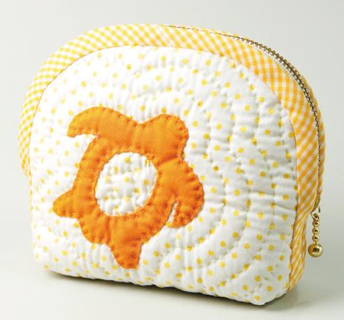 ホヌのポーチ(オレンジ)