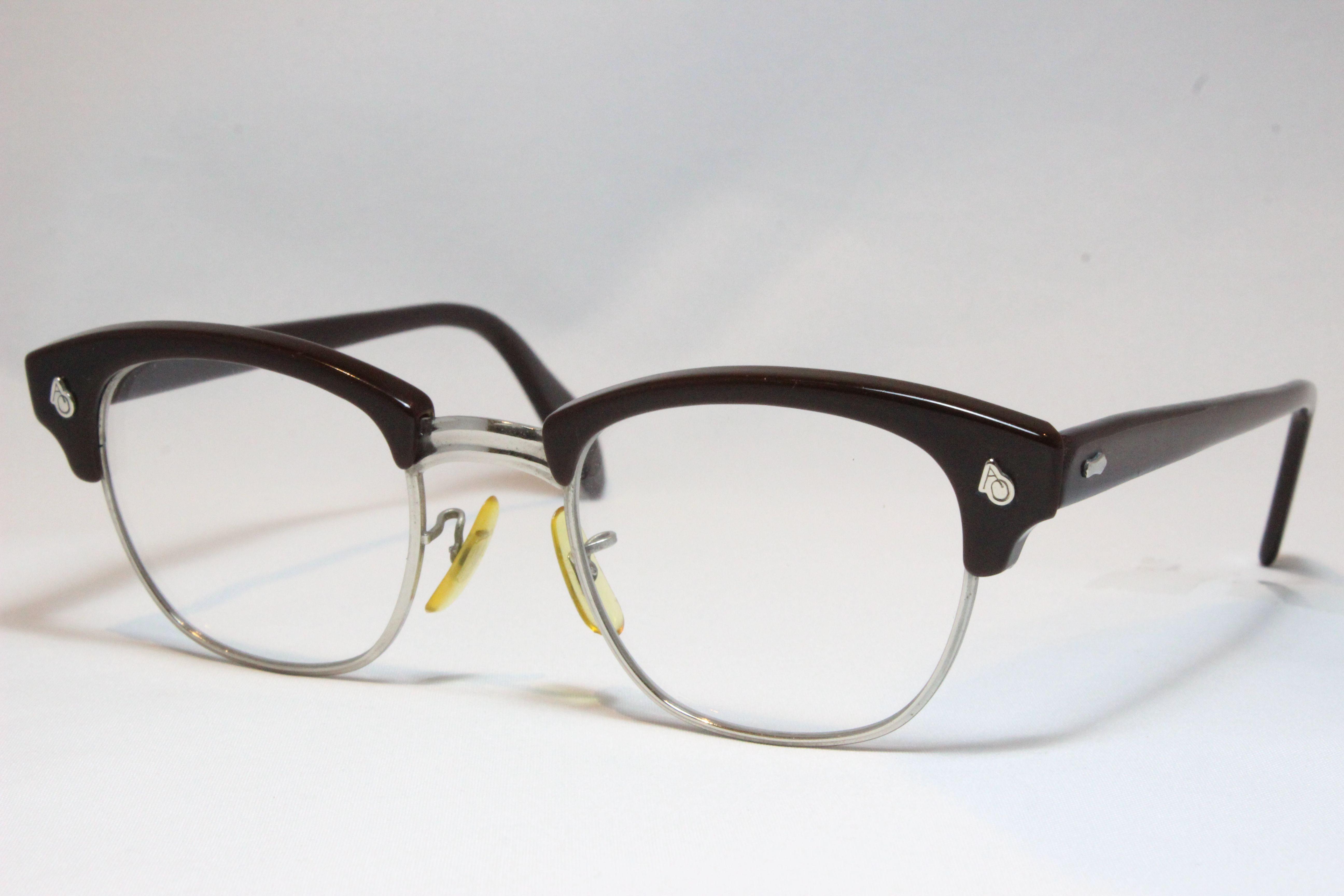 【送料無料】AMERICAN OPTICAL 1960'S BLOWLINE  VINTAGE  アメリカンオプティカル 1960'S ブロウライン ヴィンテージメガネ (AO-028)