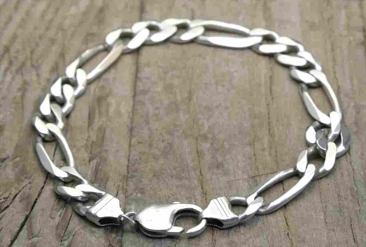 ヴィンテージ イタリア シルバー (B016) ビンテージ アクセ バングル マルジェラ ブレスレット レア Vintage Itary Silver 925  Bracelet