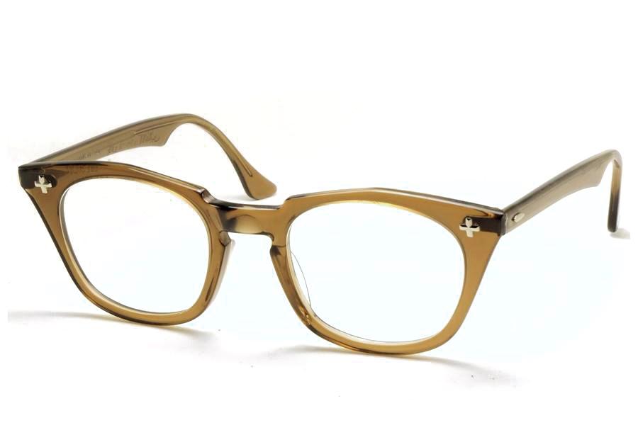 ボシュロム セイフティー クロス ヴィンテージメガネ クリア Bausch&Lomb SAFETY  CROSS 1960'S Vintage (bl-017)