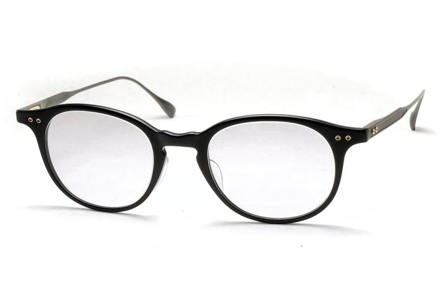 DITA (ディータ) ASH (アッシュ) DRX-2073-A-49-AF Matte Black - Black Iron 【Size49】 Gray Lens