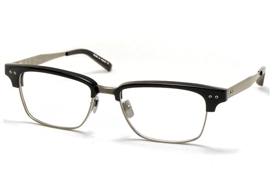 DITA ディータ メガネ 眼鏡 STATESMAN THREE ステイツマン3 55 DRX-2064-A-55 Black-Antique Silver