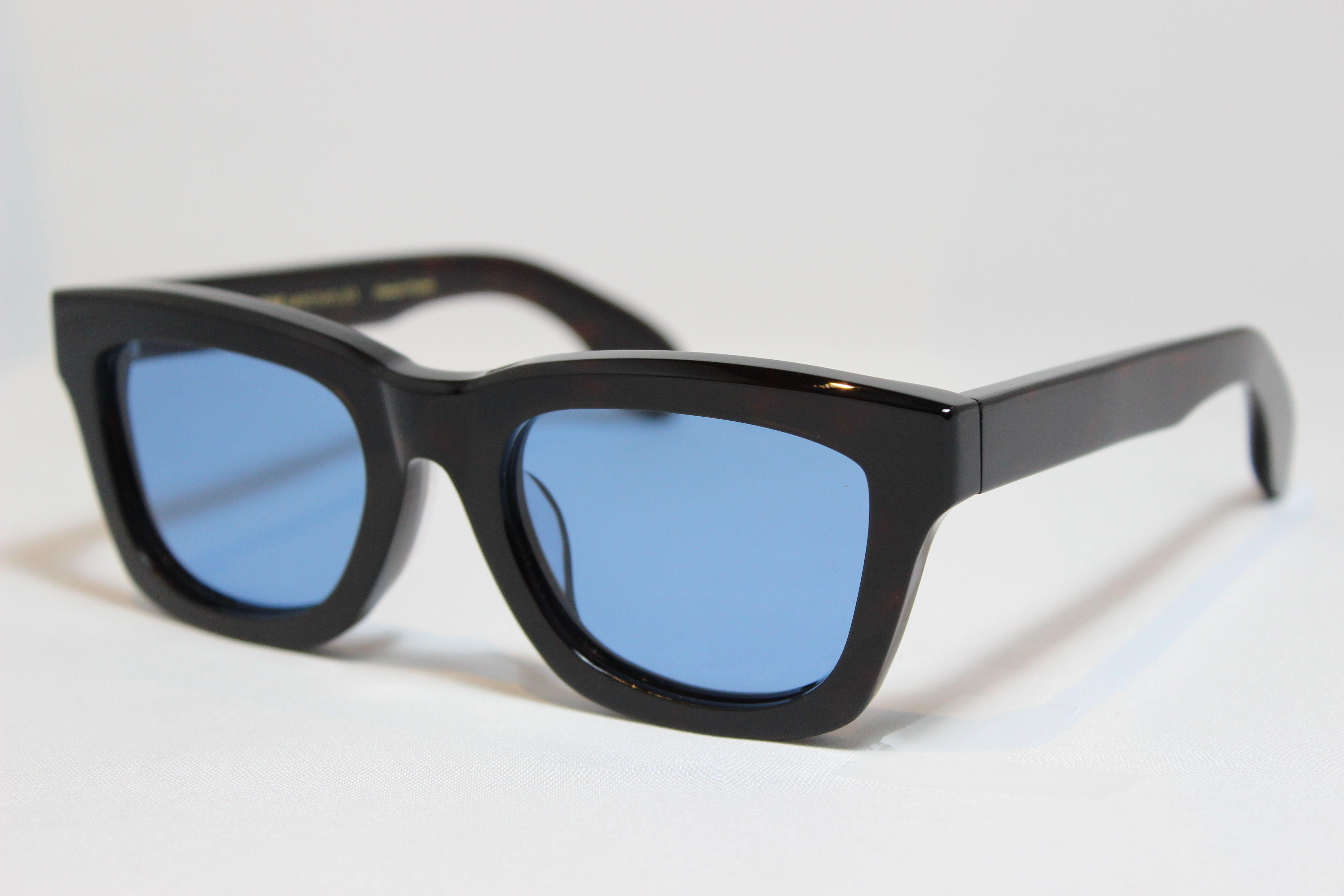 フリーダム スペクタクルス アレン サングラス べっ甲 FREEDOM SPECTACLES ALLEN (Tortoise/Blue-Lens)