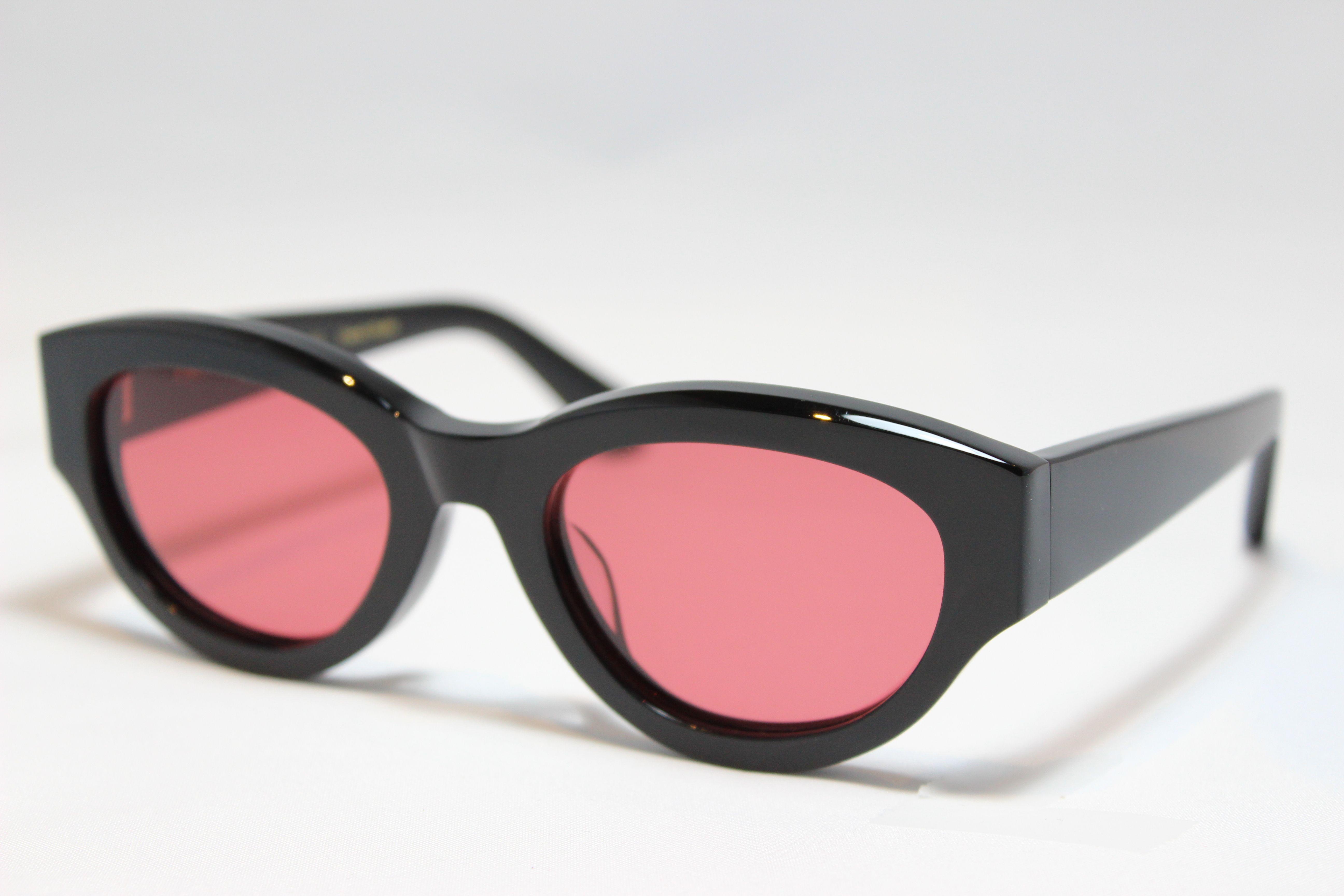 フリーダム スペクタクルス レニー サングラス ブラック FREEDOM SPECTACLES LENNY (Black/Red-Lens)