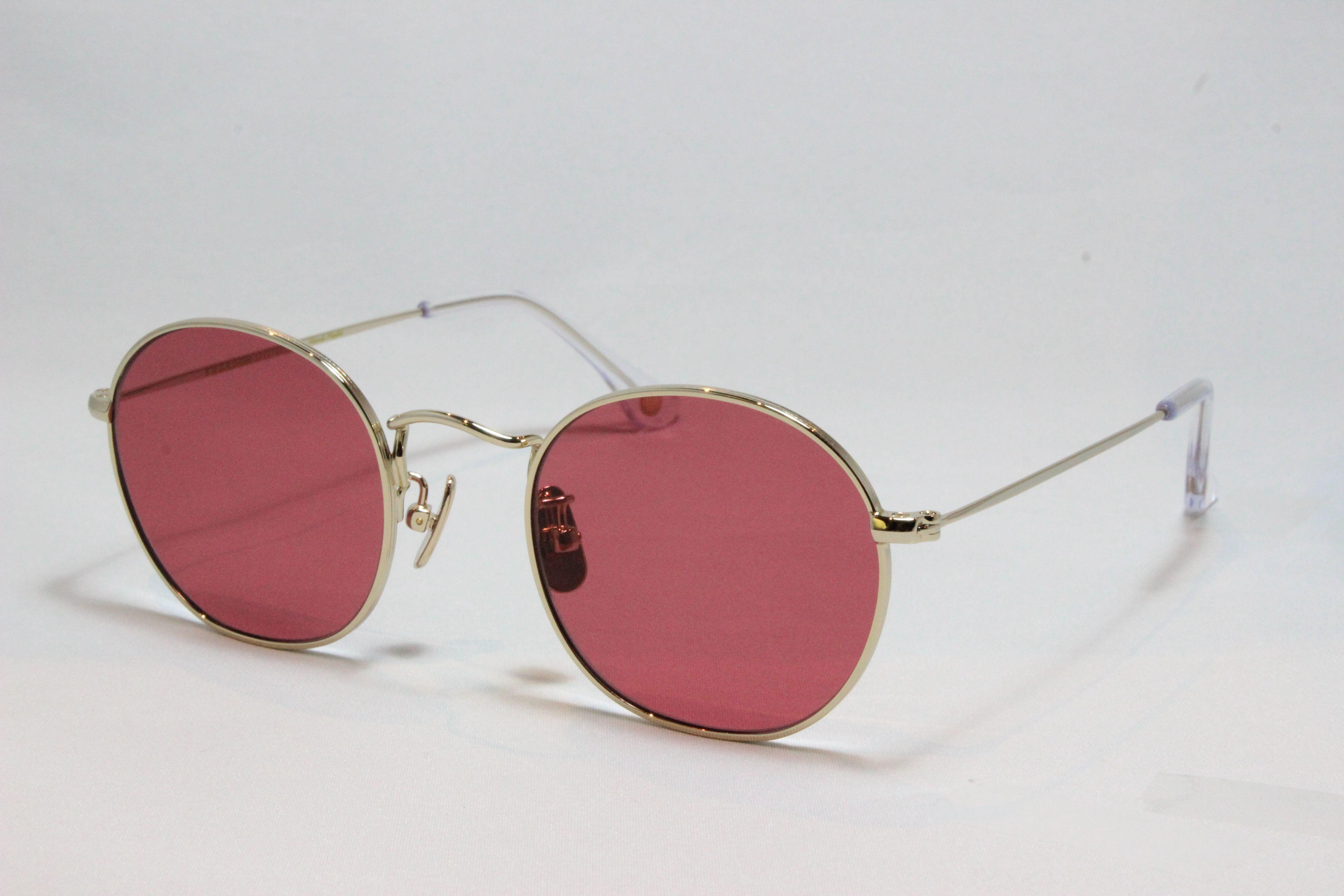 フリーダム スペクタクルス ロペス サングラス ゴールド メタル FREEDOM SPECTACLES LOPEZ (Gold/Red-Lens)