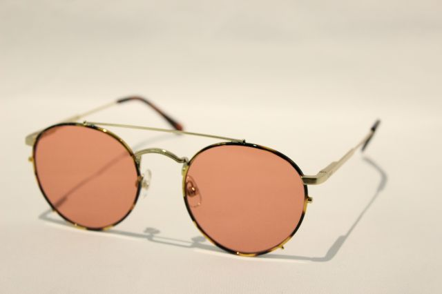 【送料無料】CRAP (クラップ)THE TUFF SAFARI ( Tortoise Gold/Light Pink )